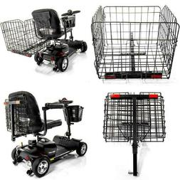 Folding Rear Basket for Pride Mobility Scooters Go-Go Travel
