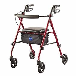 Medline Freedom Mobility Lightweight Folding Aluminum Rollat