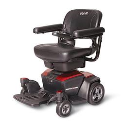 Pride Go-Chair Travel Power Wheelchair, Red