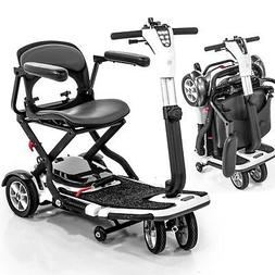 Pride Mobility GO-GO Folding Travel Scooter Lithium Battery
