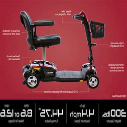 Go-Go LX 4 Wheel Travel Scooter with CTS Suspension