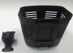 Pride Mobility Go Go Scooter Front Basket, FRMASMB13758 Blac