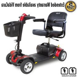 Pride Mobility GoGo Sport 4 Wheel Scooter w/ Avail Ext Warr