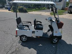 Golf Cart Electric Mobility Scooter Red/White/Black single/2