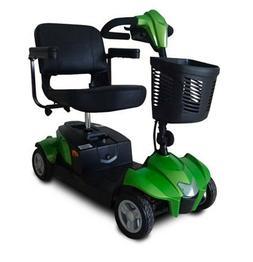 Green CityCruzer Mobility Scooter, 300 lb Cap, Suspension, E