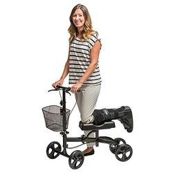 Healthport Knees Scooter | Steerable Knee Walker for Medical