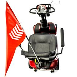 Challenger Mobility J125 Safety Flag Pole and Bracket Assemb