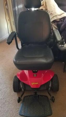 Pride Mobility Jazzy ES Electric Wheelchair Scooter Power Ch