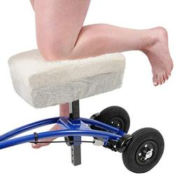Knee Scooter Comfy Cushion - Two Inch Thick Foam Knee Pad an
