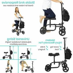 Vive Knee Walker - Steerable Scooter For Broken Leg, Foot, A