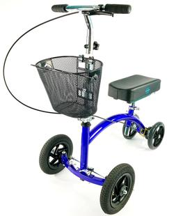 Knee Scooter Steerable Walker Medical Mobility Aid Recovery