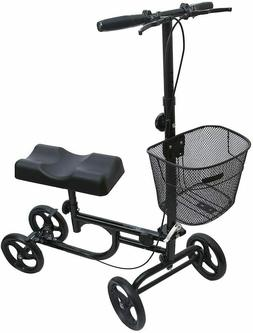 Knee Walker Scooter Leg Ankle Injury mobility Foldable Adult