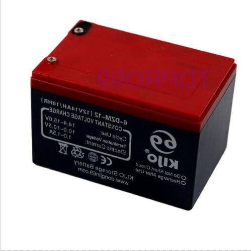 12v 14ah 6 dzm 14 battery electric