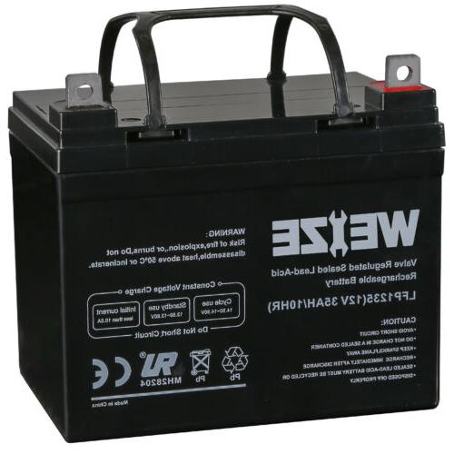 12v 35ah wheelchair battery replace 12 volt