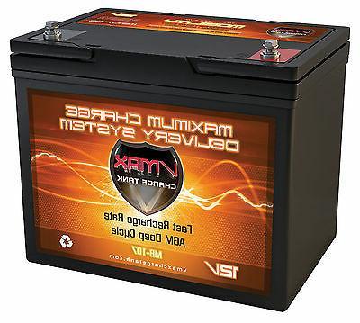 VMAX MB107 12V 85ah Electric Mobility 1265T AGM Scooter Batt