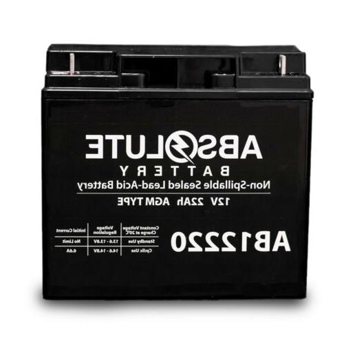 NEW 12V 22AH Replacement Battery for Drive Medical Ventura 4