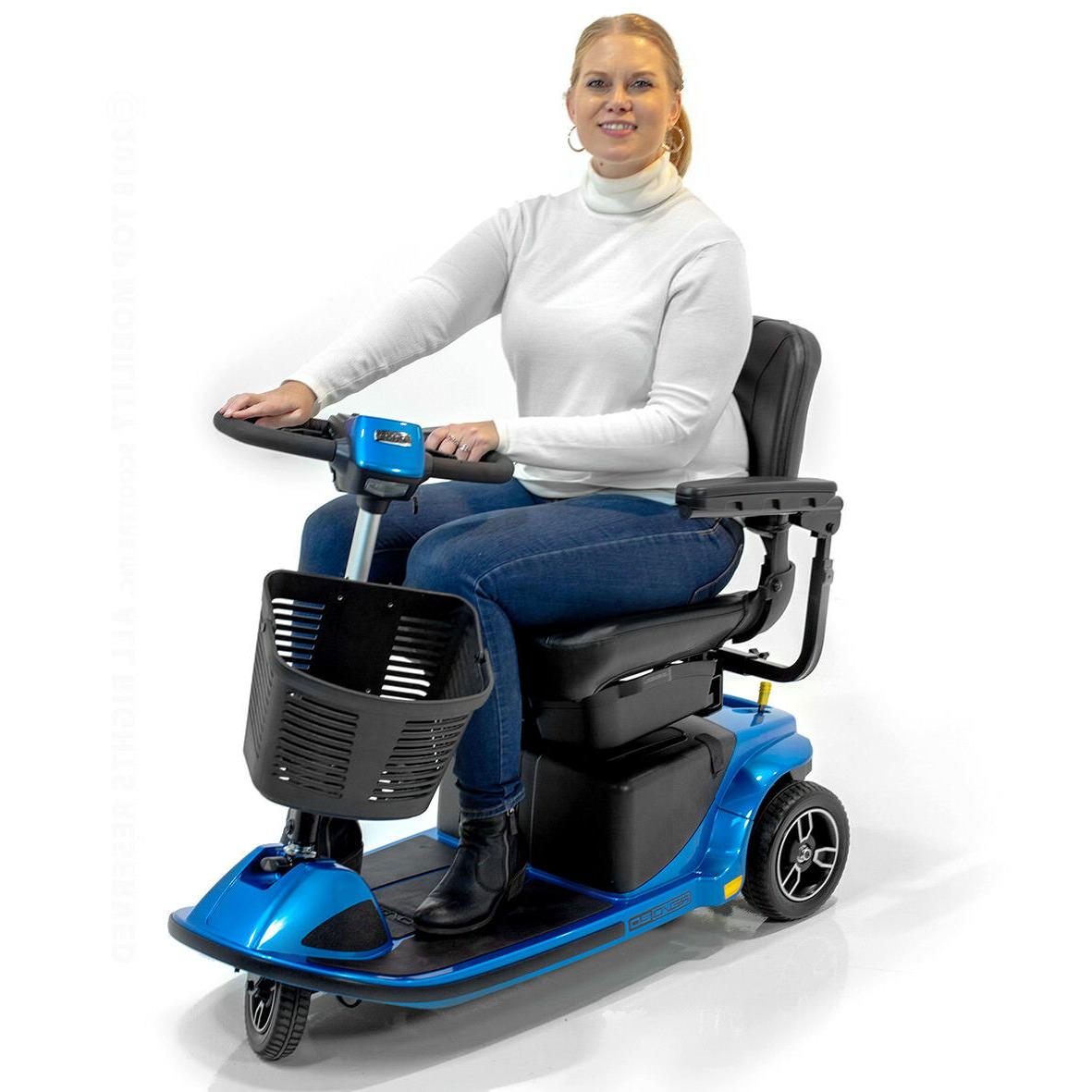 REVO 2.0 3-Wheel Electric Pride Mobility Scooter U1 Batterie