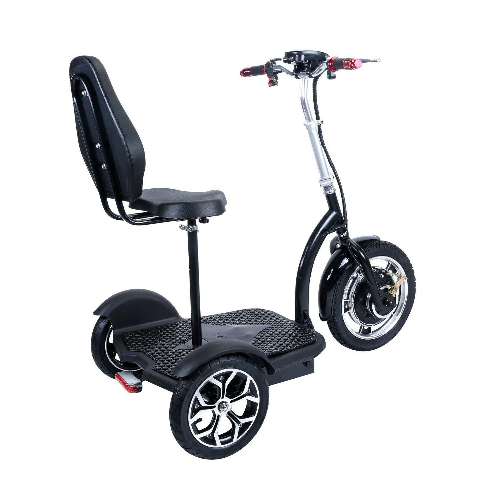 City Hopper 3-Speed Electric Mobility with 16-inch Front Wheel, Bru