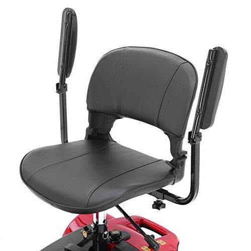 4 Wheel Power Travel Foldable for Elders & Disabled,
