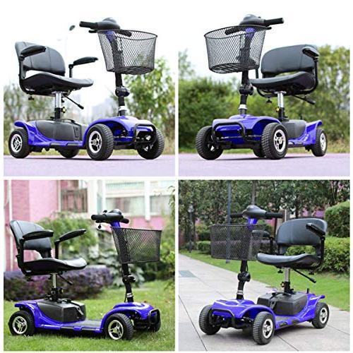 Holarose 4 Mobility Power Scooter, Smart Mobility - for Disabled Elderly,Kids,Children,Disabled Veterans