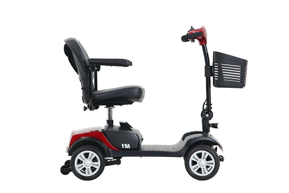 4 Wheel Folding Compact Seat