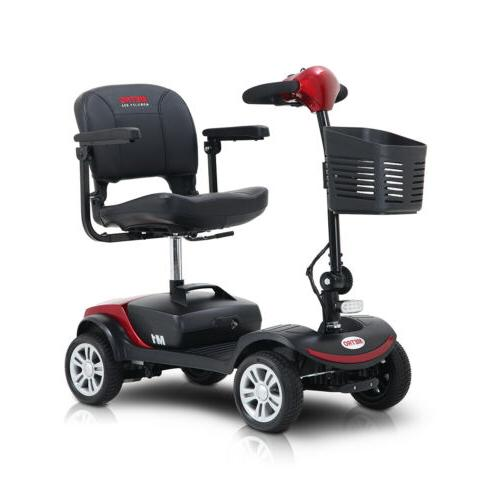 Mobility Walking Equipment Travel Outdoor Scooter W/Swivel seat