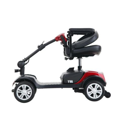 4 Scooter Electric Wheelchair Foldable Compact