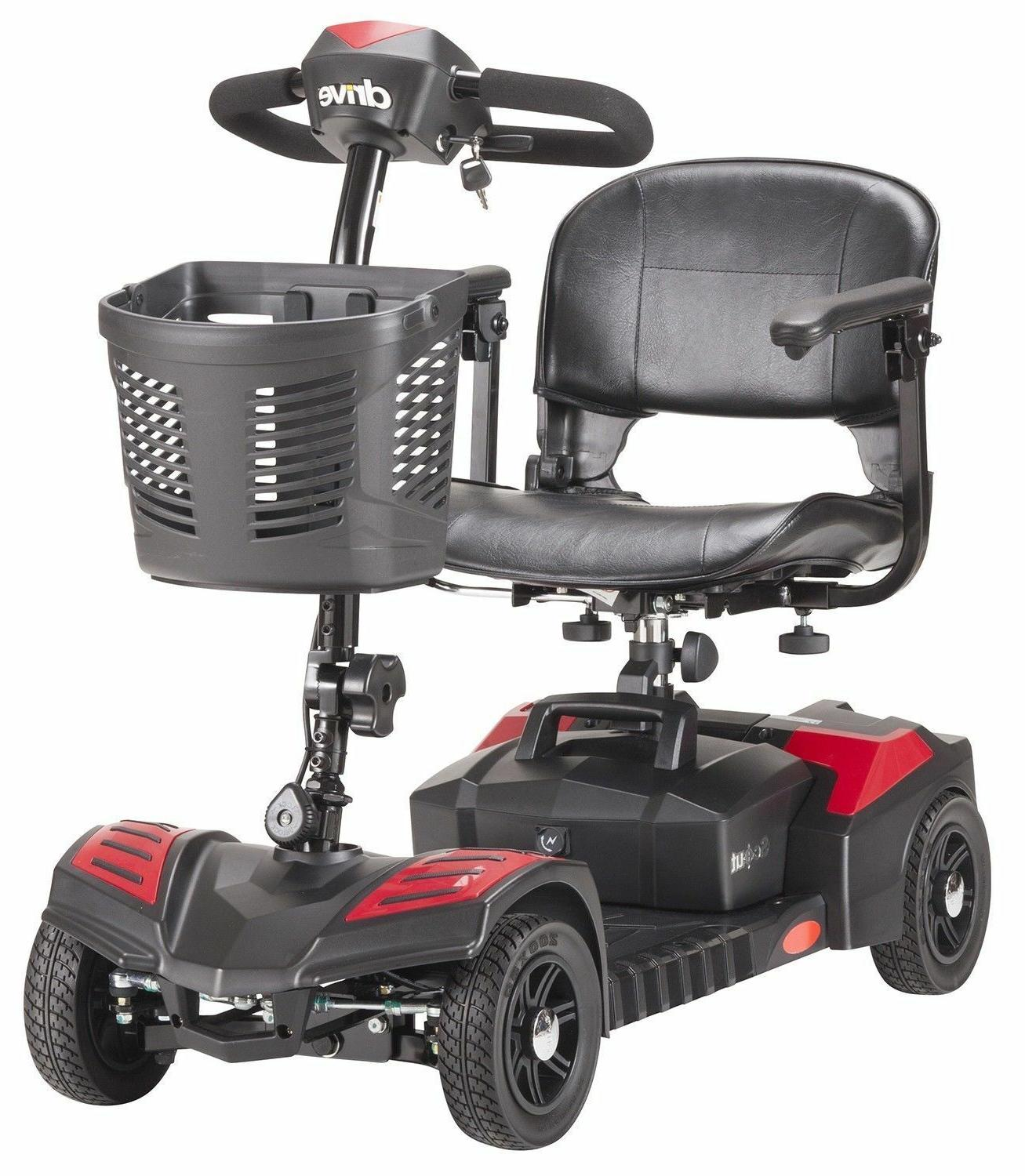 4 wheel power scooter mobility disability handicap