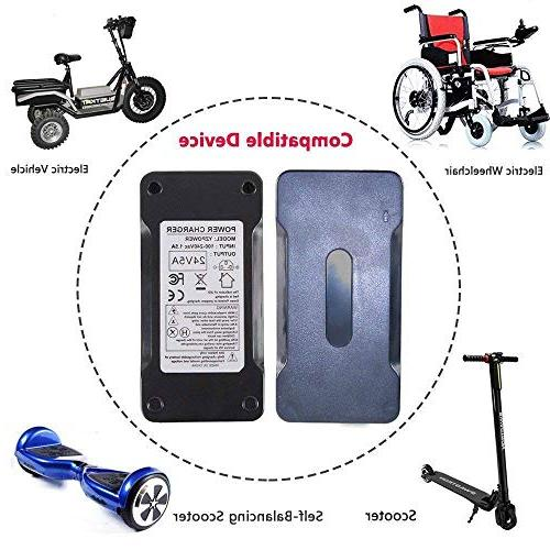 Abakoo New Battery Charger for Scooter, Wheelchair, S150 1107 614HD Smart