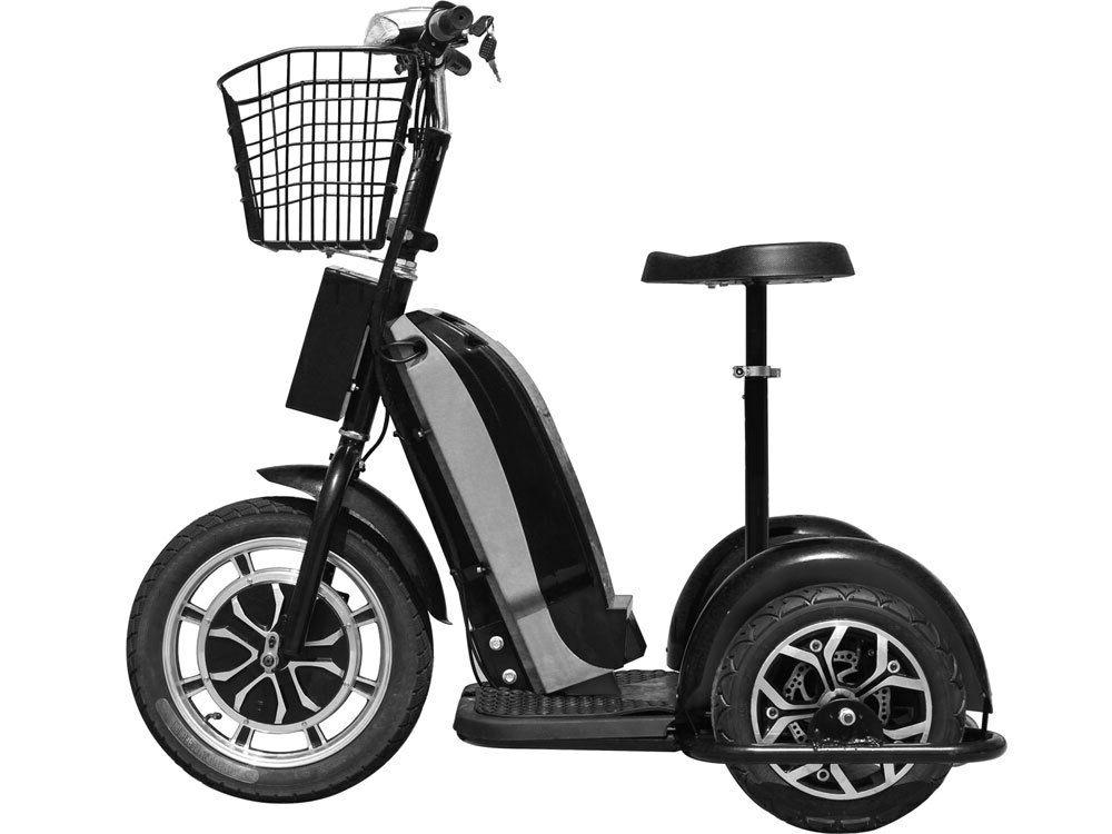 800w mobility scooter electric motor trike basket