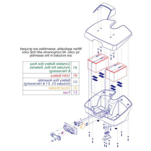 BATASMB1028 - Batteries - Gogo Traveller & Ultra X