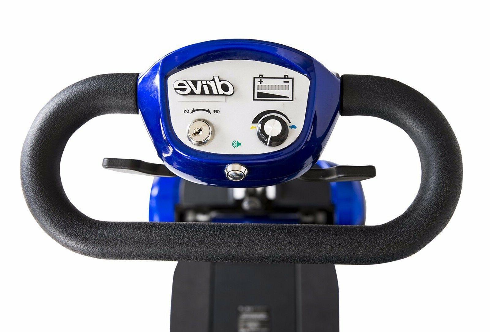 Drive Self-Folding 4 Wheel Scooter, 300 lb Capacity