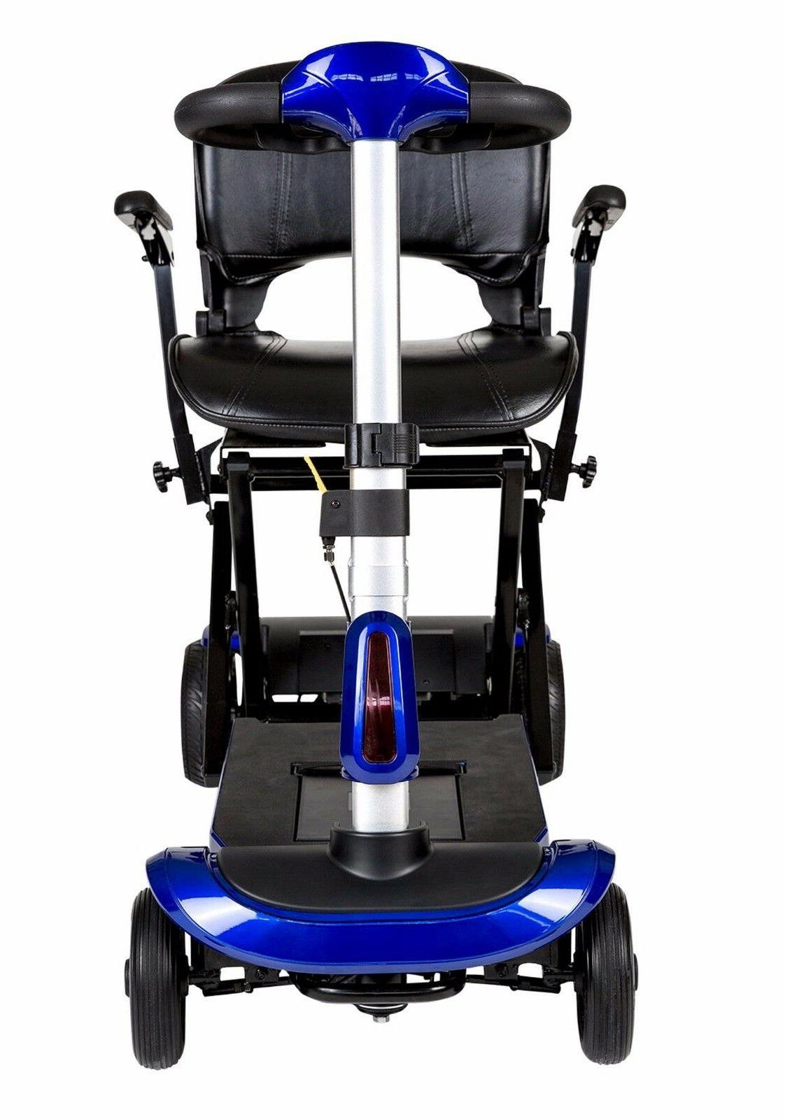 Drive Blue 4 Wheel Mobility Scooter, 300 lb Capacity
