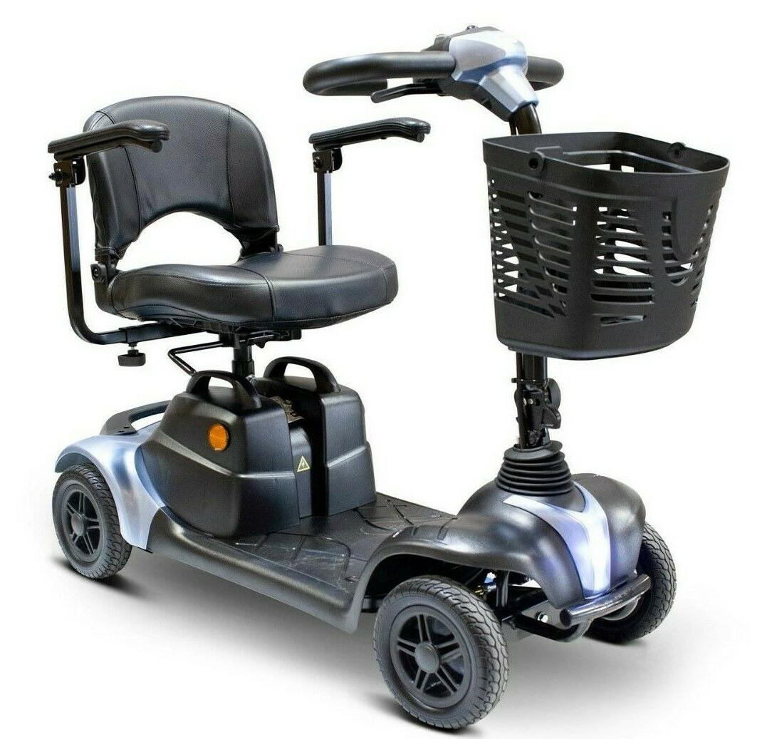 blue ew m39 mobility scooter 300 lb