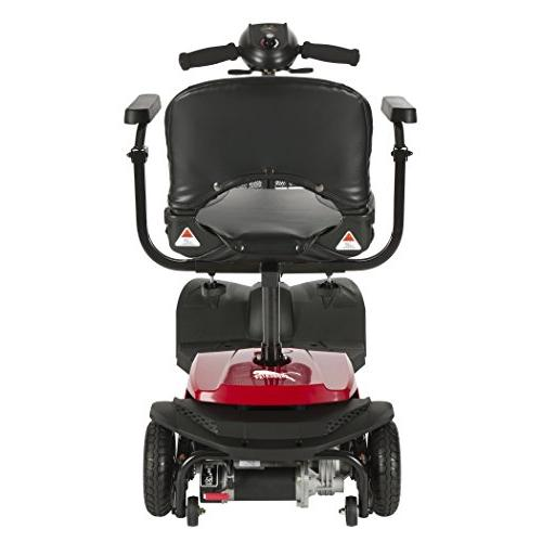 Drive Medical Red X4 4 Transportable Scooter,