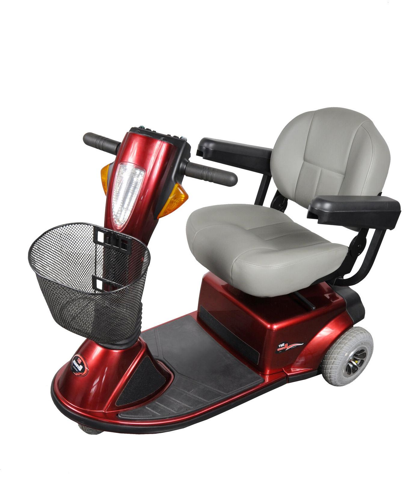 Zip'r Breeze 3-Wheel Mid Size Mobility Scooter 300 lbs Capac