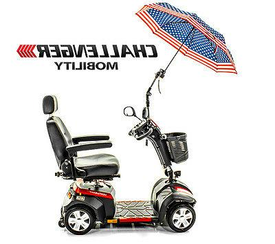 Challenger Umbrella Assembly Sun & Rain mobility scooter J215
