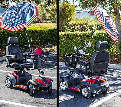 Challenger Umbrella Holder Assembly Sun & Rain mobility scooter J215