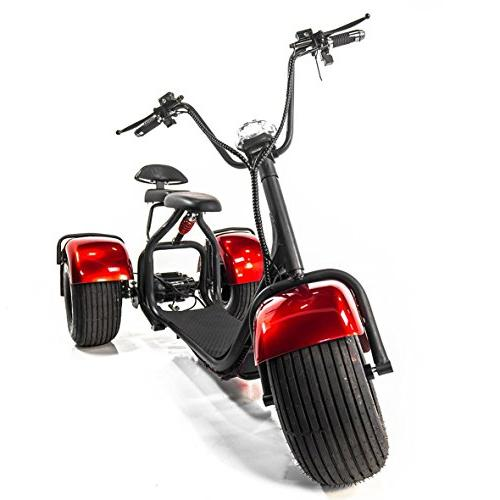 eWheels CHOPPER with Fat EW21 Electric is shipped FULLY assembled