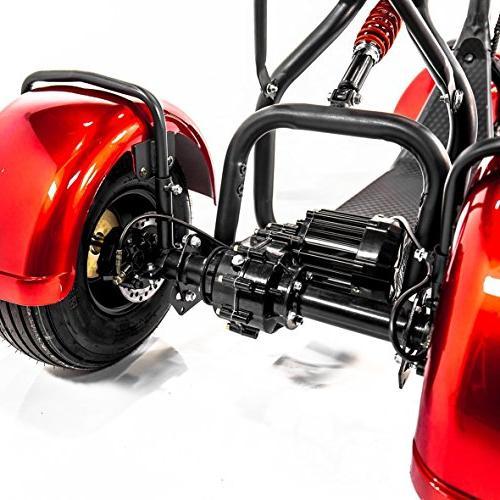 eWheels TRIKE Fat Tires EW21 Electric