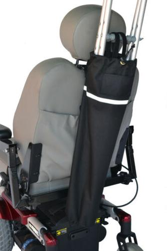 crutch holder for mobility scooters powerchairs
