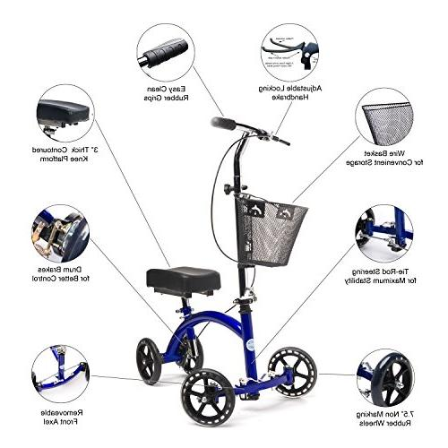 KneeRover Deluxe Cycle Crutch