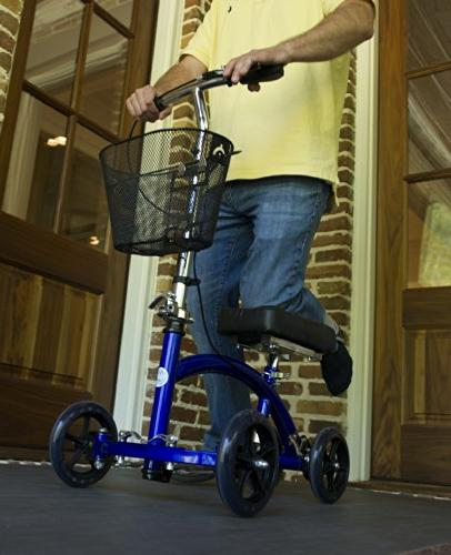 KneeRover Cycle Knee Crutch Alternative