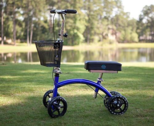 KneeRover Steerable Knee Cycle Knee Crutch Alternative