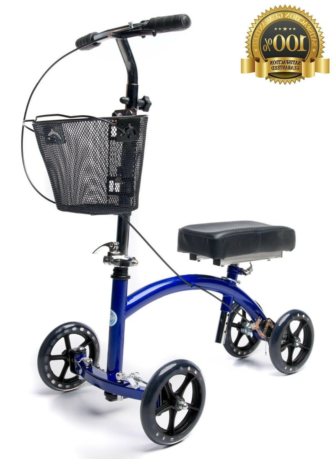 deluxe steerable knee walker