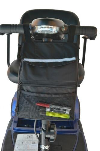 deluxe tiller bag for mobility scooters 9