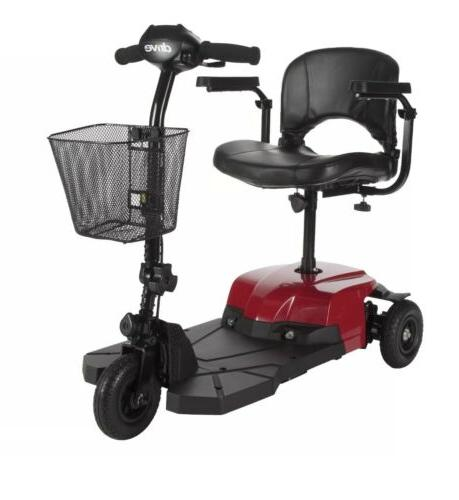 drive bobcat x3 wheel lightweight mobility scooter
