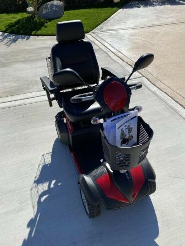 Drive Power Mobility Scooter 4 Wheel Folding Rest Handicap