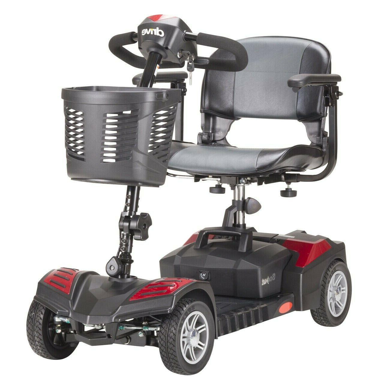 dst 4 wheel electric power mobility travel