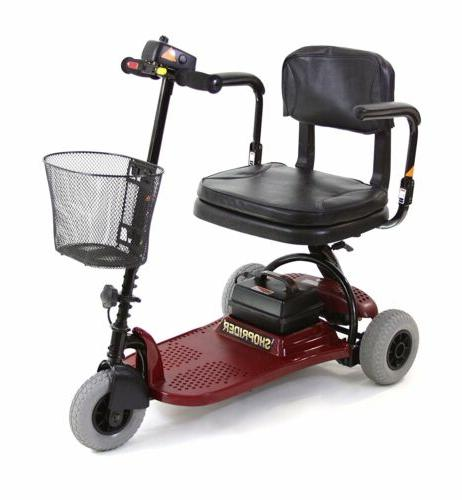 echo 3 mobility scooter lightweight red